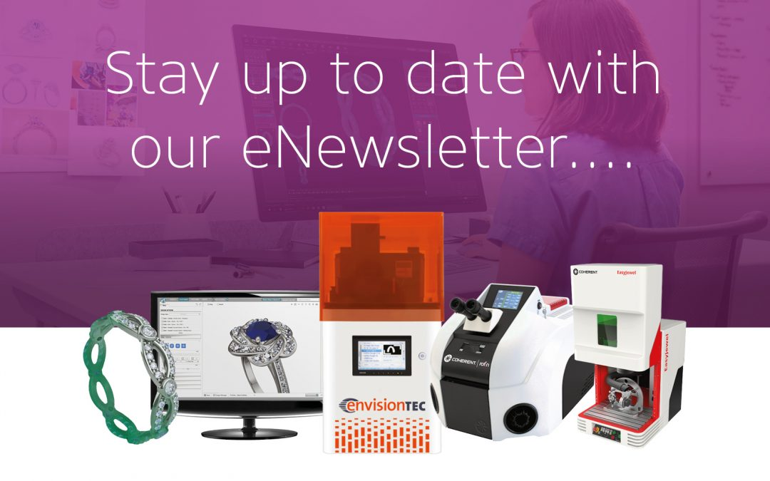 Find out what's new from Gemvision, EnvisionTEC and Coherent-Rofin