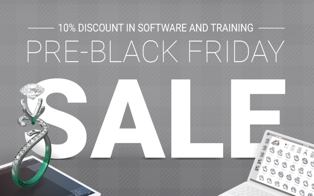Pre-Black Friday Sale: Save 10% on Gemvision software or free 30 day trial