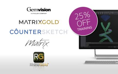 25% off Gemvision software training