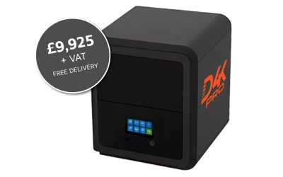 NEW EnvisionTEC D4K 3D Printer – ORDER NOW for October Delivery